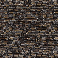 Row by Row Cobblestone Print C4497