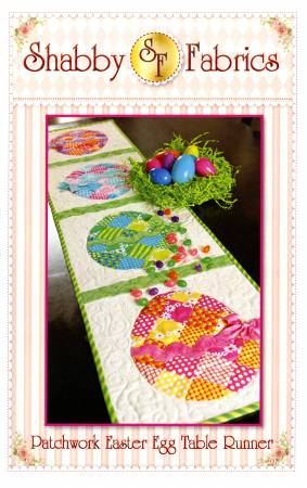 Shabby Fabrics Easter Egg Table Runner pattern 48575