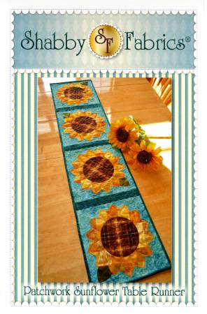 Shabby Fabrics Sunflower Runner 48634