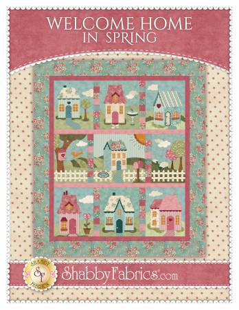 Shabby Fabrics Welcome Home In Spring BOM SF49837