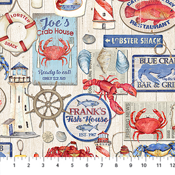 Seafood Shack Signage 22115-11