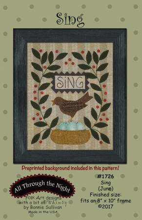 Sing Pattern by Bonnie Sullivan
