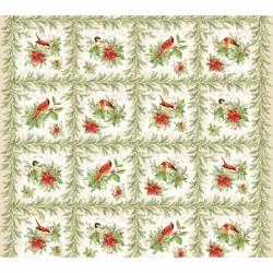 Songbird Christmas Panel MAS8130-E