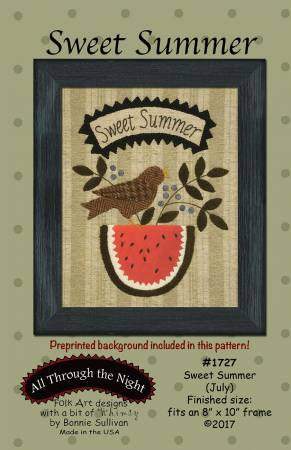 Sweet Summer Pattern by Bonnie Sullivan