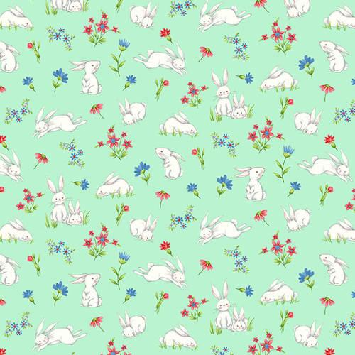 Sweet Tweet aqua bunnies 2268-66