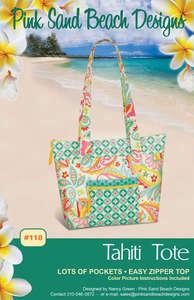 Tahiti Tote pattern PSB118