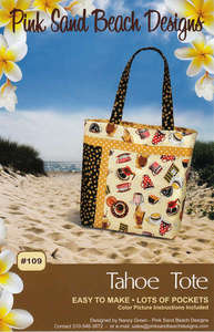 Tahoe Tote by Pink Sand Beach PSB109