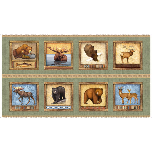 Timberland Trail Animal Picture Patches cream 26804e