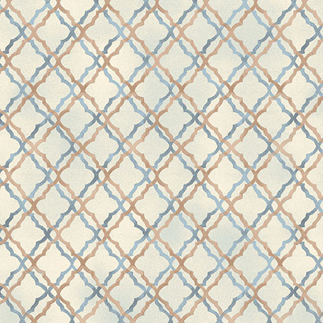 Tranquility Light Blue Scroll Trellis 26393BE