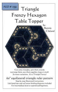 Triangle Frenzy Hexagon Table Topper AED159