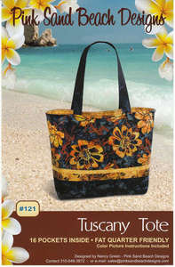 Pink Sand Beach Tuscany Tote PSB121