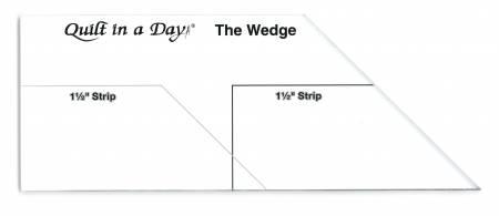 Wedge Ruler by Eleanor Burns 2034 QD
