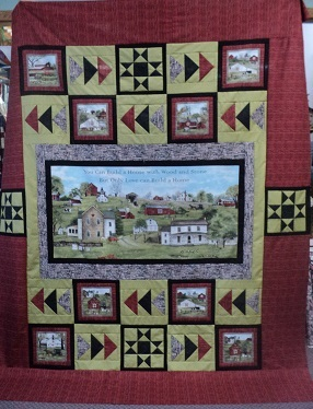 Welcome Home Quilt Kit