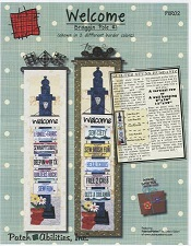 Welcome Bragging Pole for fabric license plates