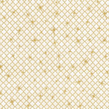 Winter's Grandeur 6 ivory gold mesh SRKM-17329-14