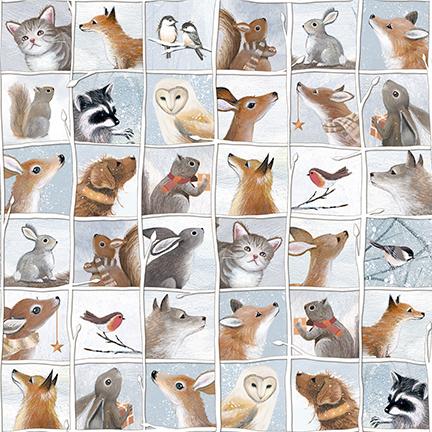 Woodland Friends Animal Patch 25841B