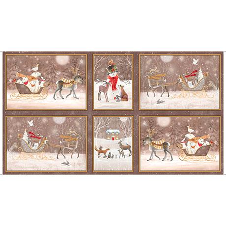 Woodland Dream Winter Vignette Patches 26474 A_l