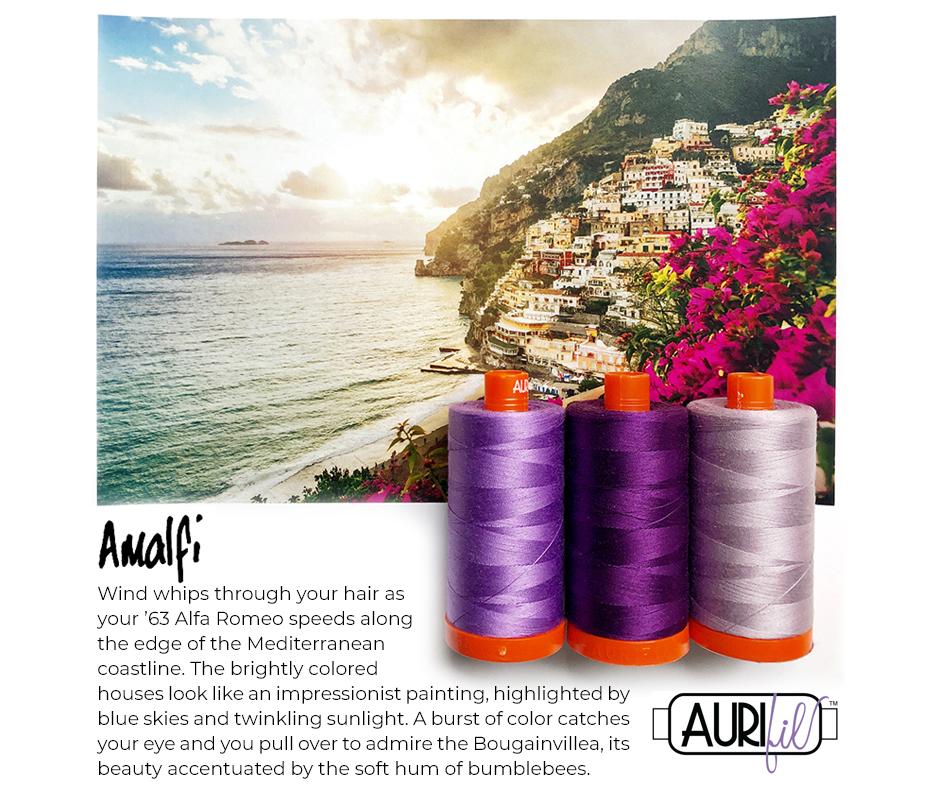 Aurifil Thread Pack Amalfi Purple