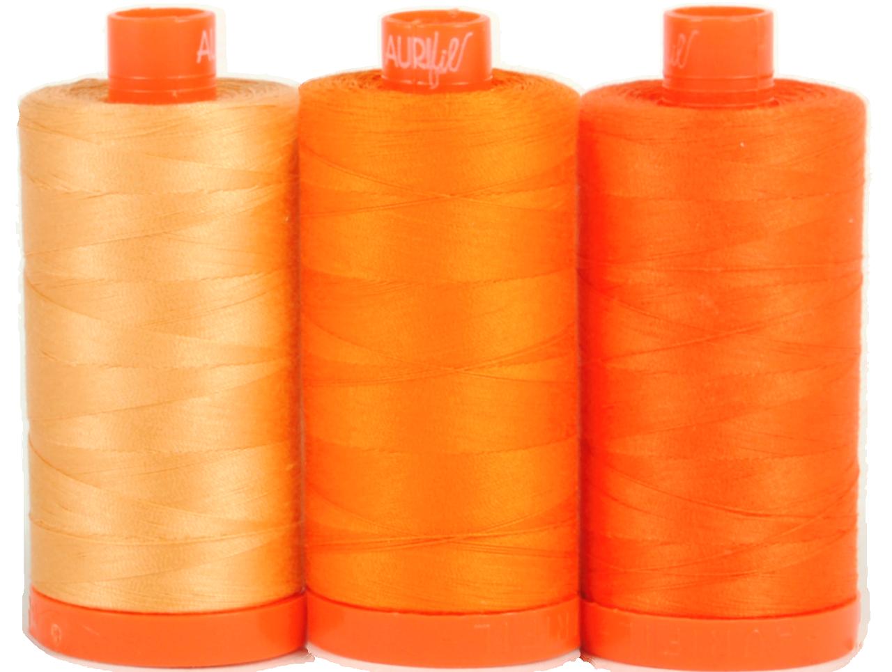 Aurifil Thread Pack Tuscany Orange
