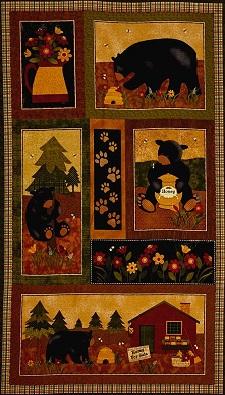 Bear Paws panel