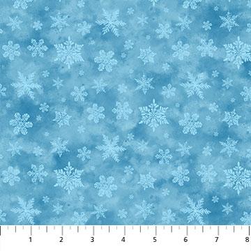 Christmas Woodland Snowflake by Northcott 23529-44