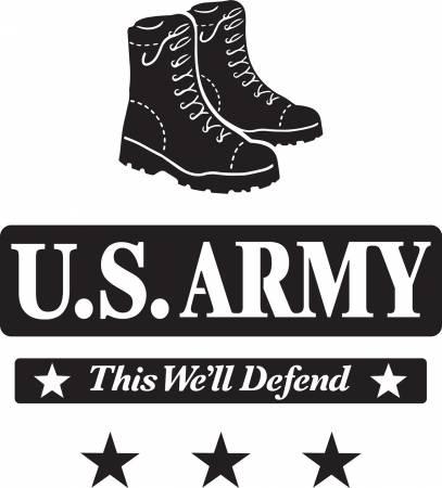 Army Laser Applique Kit