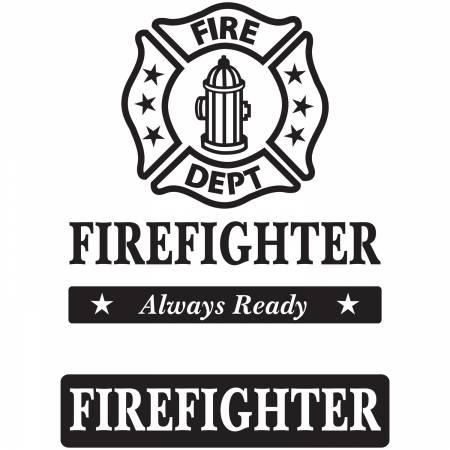 Fire Fighters Laser Cut Applique Kit