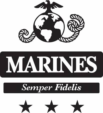 Marines Laser Applique Kit