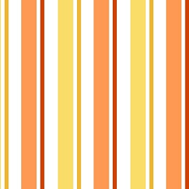 One in a Minion Orange Stripe