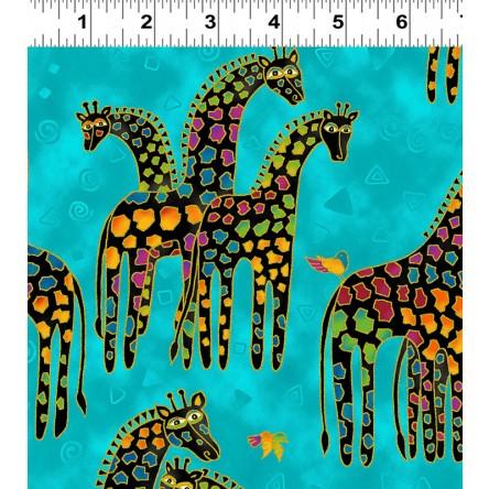 Mythical Jungle Giraffes 2136-34