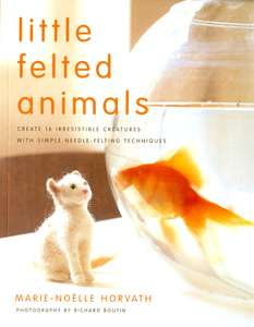 Little Felt Animals book