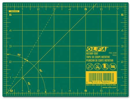 """Olfa 6"""" x 8"""" cutting mat"""