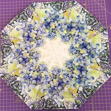 Leah One Fabric Kaleidoscope Kit