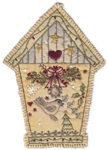 Embroidery Bird House