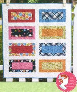 Little P- On the Boardwalk quilt pattern