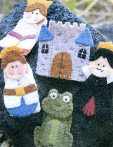 Finger Puppets Kit- Fairy Tales
