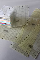 "Quilters Select 8"" x 8"" square ruler"