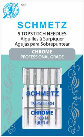 Schmetz Chrome Topstitch Needle 90/14