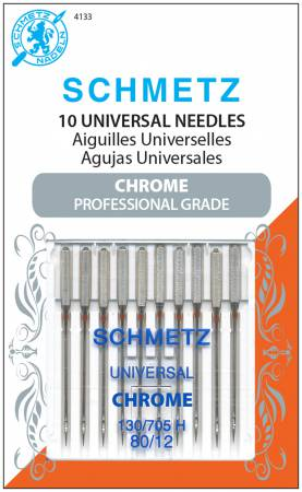 Schmetz Chrome Universal Machine Needle 80/12