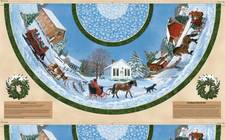 Sleigh Ride Tree Skirt 5382-247