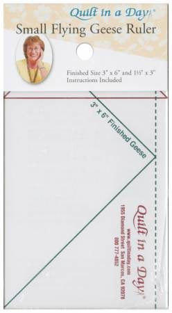 Small Flying Geese Ruler by Eleanor Burns 2006QD