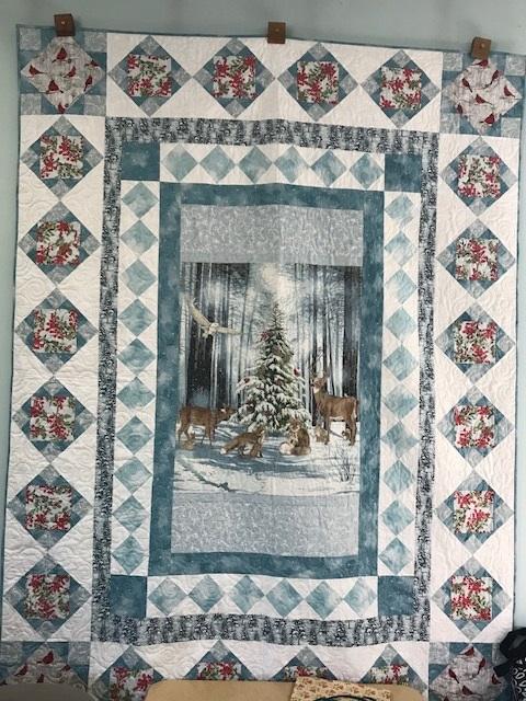 Snowfall Quilt Kit