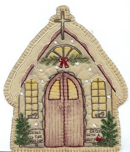 Embroidery Church