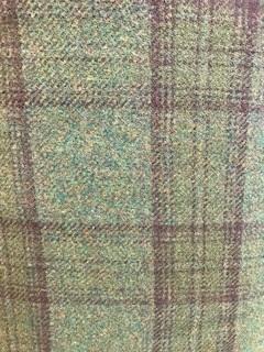 Wool Dark Green Plaid