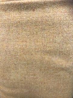 Wool medium yellow herringbone